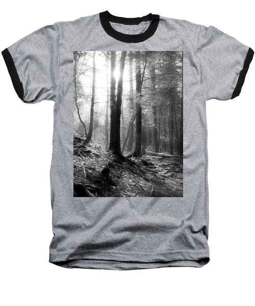 Baseball T-Shirt featuring the photograph Morning Sun by Mary Almond