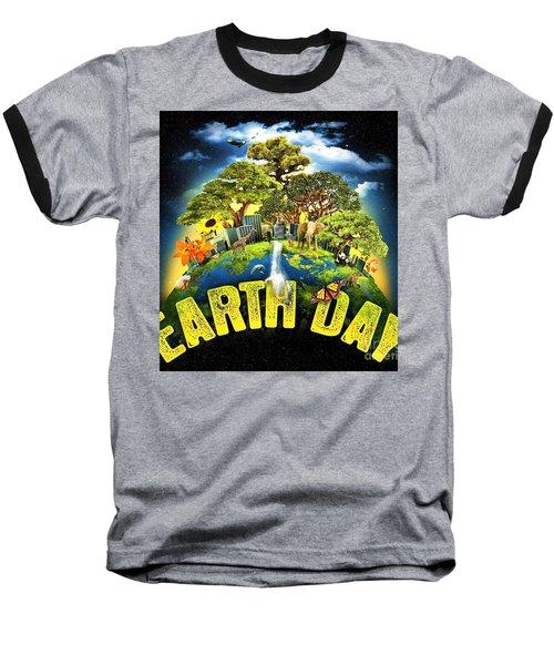 Mother Earth Baseball T-Shirt
