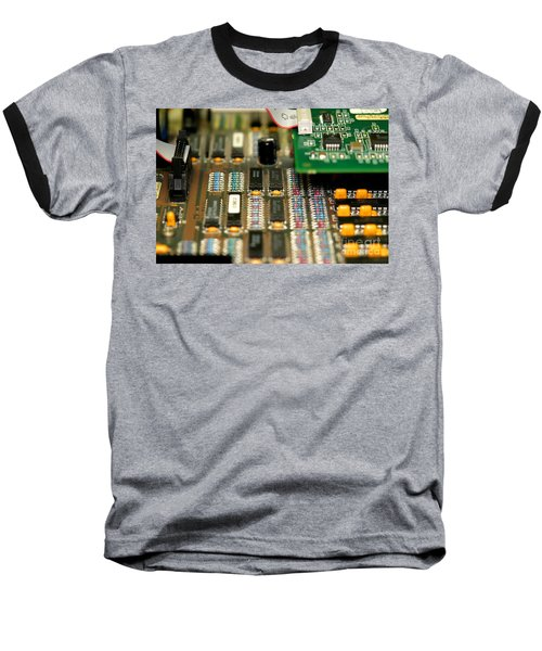 Motherboard Baseball T-Shirt