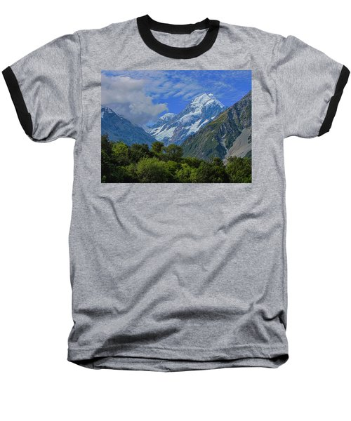 Baseball T-Shirt featuring the photograph Mount Cook by David Gleeson