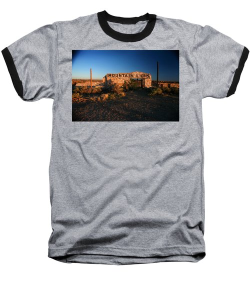 Baseball T-Shirt featuring the photograph Mountain Lions At Two Guns by Lon Casler Bixby