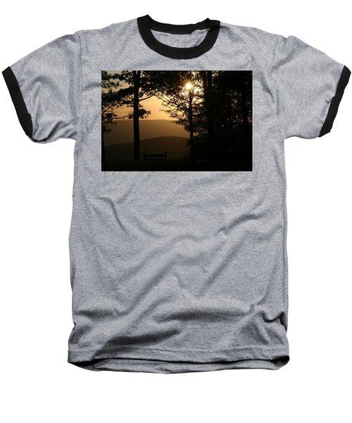 Mt Pisqah Sunset Baseball T-Shirt