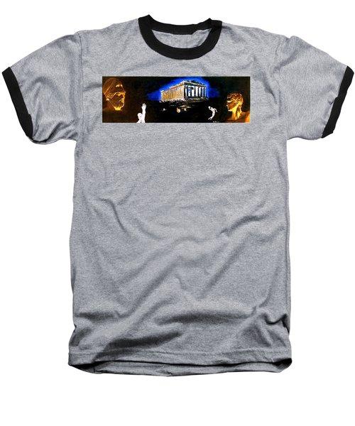 Mural - Night Baseball T-Shirt