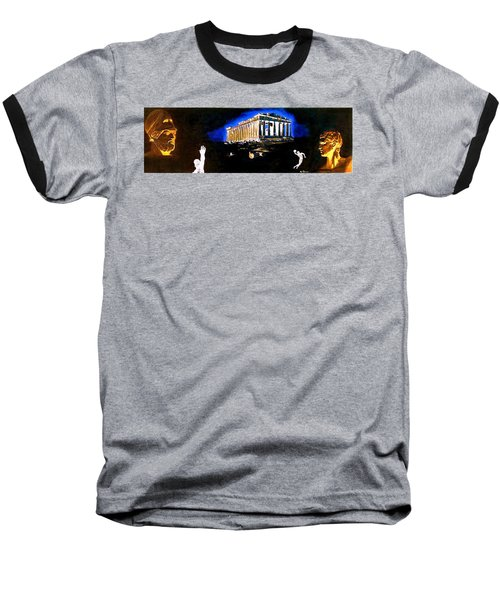 Mural - Night Baseball T-Shirt