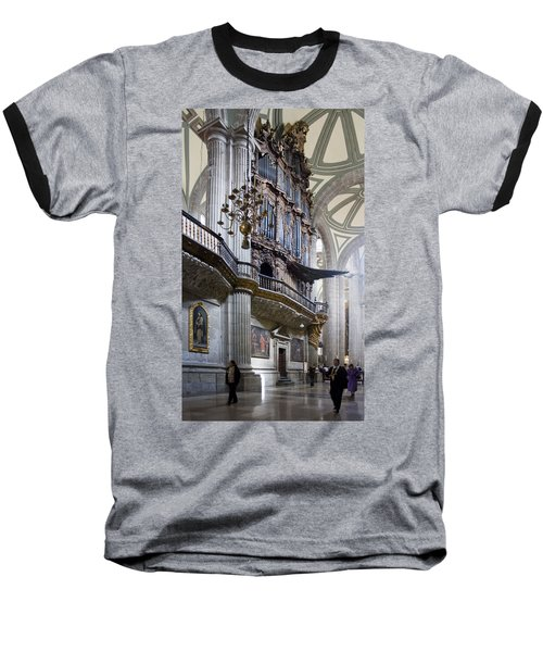 Baseball T-Shirt featuring the photograph Music On High by Lynn Palmer