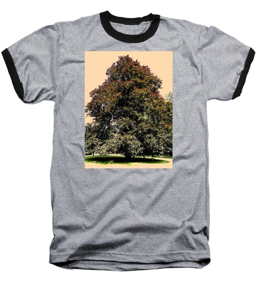 Baseball T-Shirt featuring the photograph My Friend The Tree by Juergen Weiss