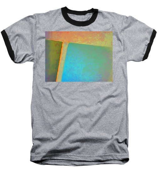Baseball T-Shirt featuring the digital art My Love by Richard Laeton