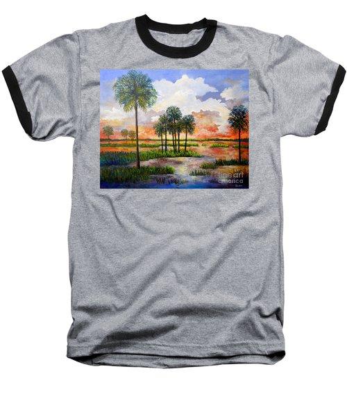 Myakka Sunset Baseball T-Shirt