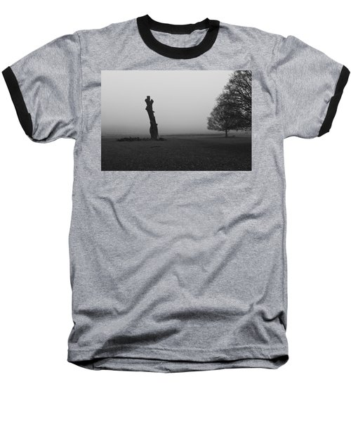 Baseball T-Shirt featuring the photograph Naked Tree by Maj Seda