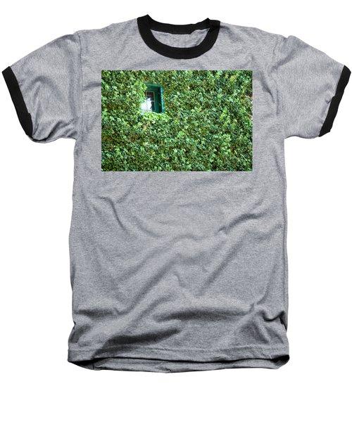 Napa Wine Cellar Window Baseball T-Shirt
