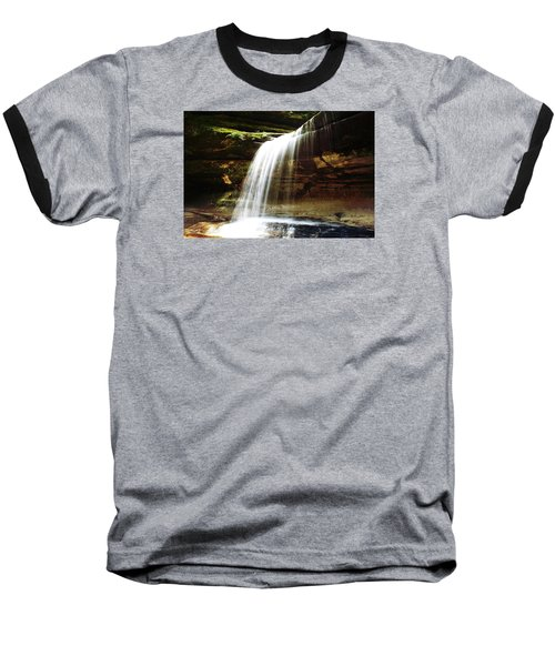 Baseball T-Shirt featuring the photograph Nature In Motion by Milena Ilieva