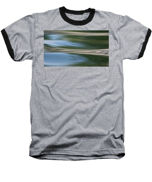 Nature's Reflection Baseball T-Shirt by Cathie Douglas