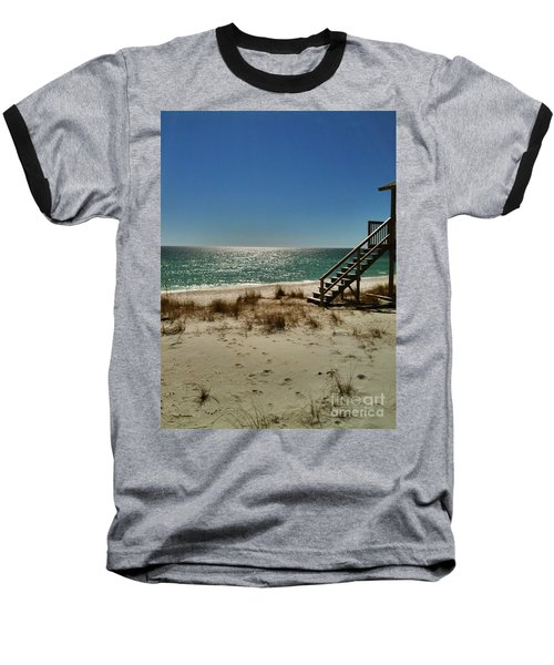 Navarre Beach Baseball T-Shirt