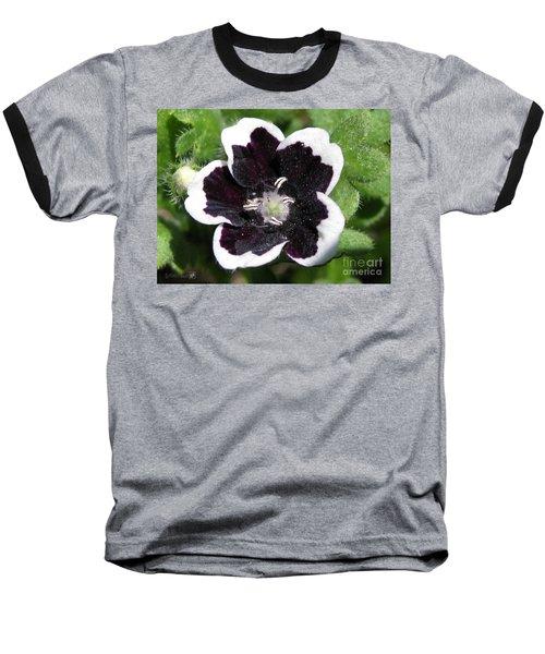 Nemophilia Named Penny Black Baseball T-Shirt by J McCombie