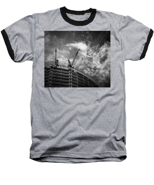 New Buildings Baseball T-Shirt