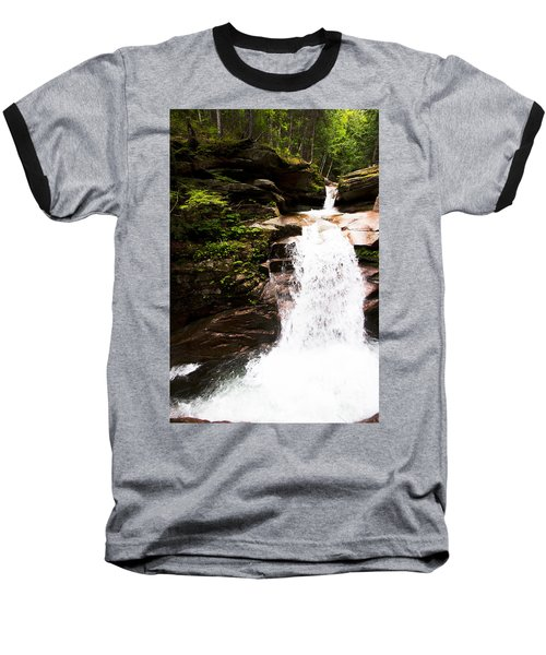 New Hampshire Waterfall Baseball T-Shirt