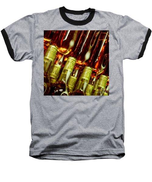 New Wine Baseball T-Shirt by Lainie Wrightson