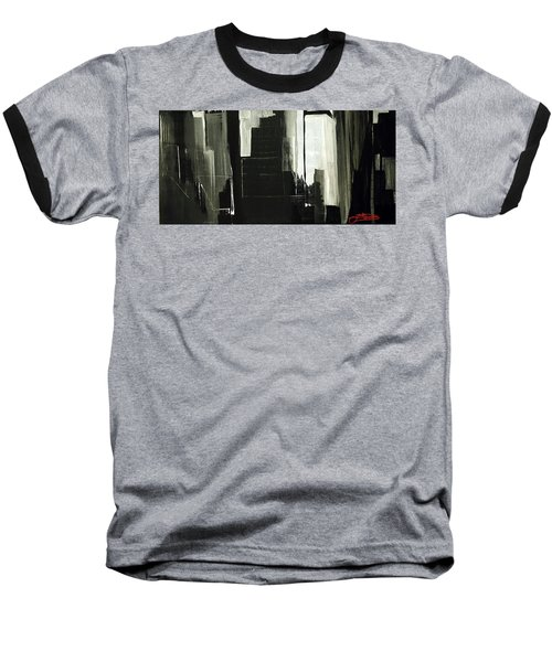 New York City Reflection Baseball T-Shirt