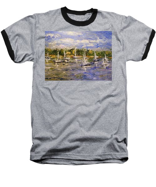 Newport Views Baseball T-Shirt