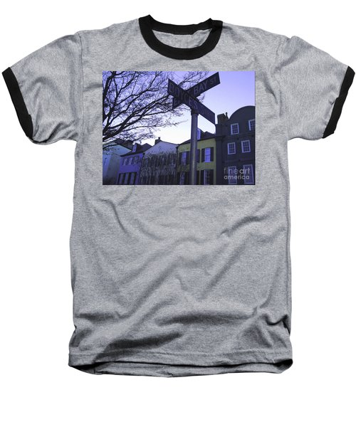 Baseball T-Shirt featuring the photograph Night In Savannah by Andrea Anderegg