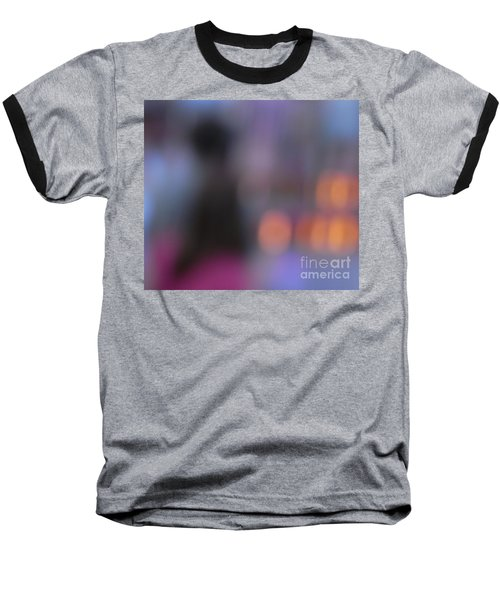 Baseball T-Shirt featuring the photograph Imagine Nightfall At The Funfair by Andy Prendy
