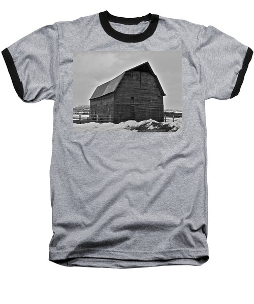 Baseball T-Shirt featuring the photograph Noble Barn by Eric Tressler