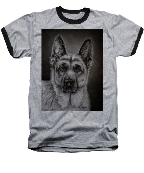 Noble - German Shepherd Dog  Baseball T-Shirt