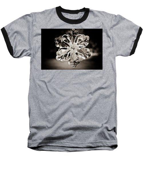 Baseball T-Shirt featuring the photograph Noir Reflections by Sara Frank
