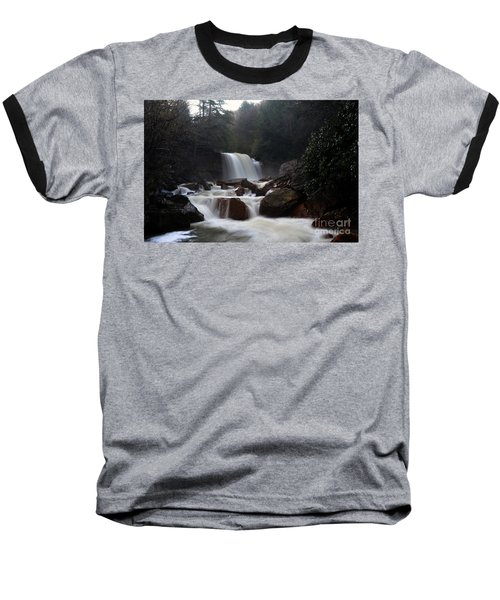 Baseball T-Shirt featuring the photograph North Forks Waterfalls by Dan Friend