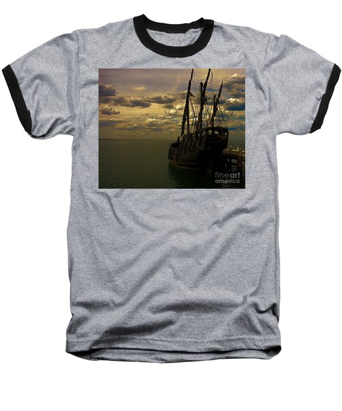 Notorious The Pirate Ship Baseball T-Shirt