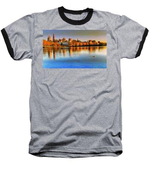 Novodevichy Convent Baseball T-Shirt