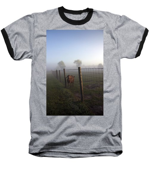Baseball T-Shirt featuring the photograph Nubian Goat by Lynn Palmer