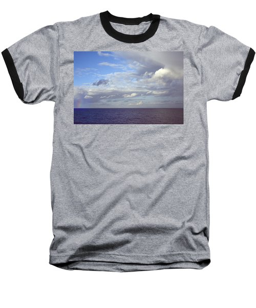Ocean View Baseball T-Shirt by Mark Greenberg