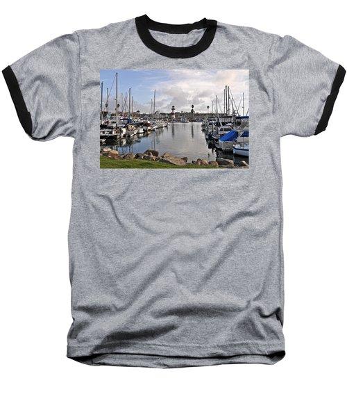 Oceaside Harbor Baseball T-Shirt