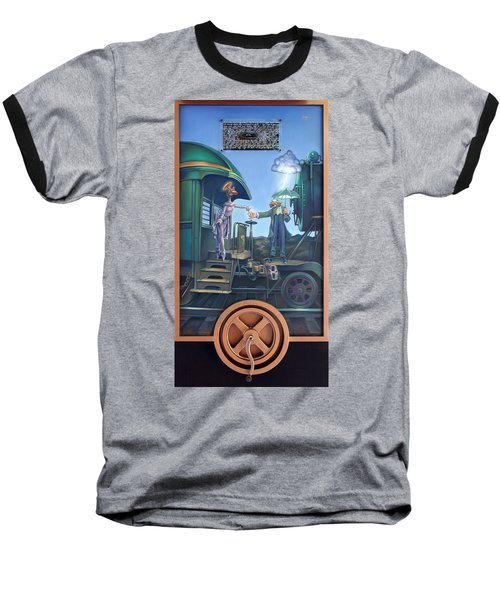 Of Thee I Sing The Body Electric Baseball T-Shirt
