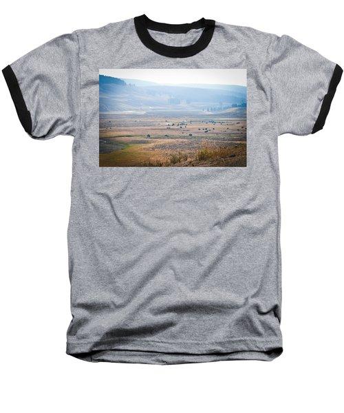 Oh Home On The Range Baseball T-Shirt by Cheryl Baxter