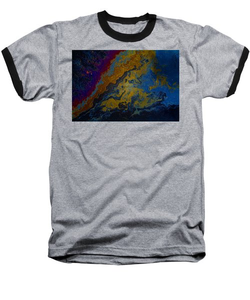 Oil On Pavement True Colors Baseball T-Shirt