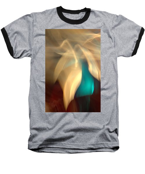 Baseball T-Shirt featuring the mixed media O'keefe II by Terence Morrissey