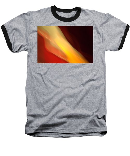 Baseball T-Shirt featuring the mixed media O'keefe Iv by Terence Morrissey