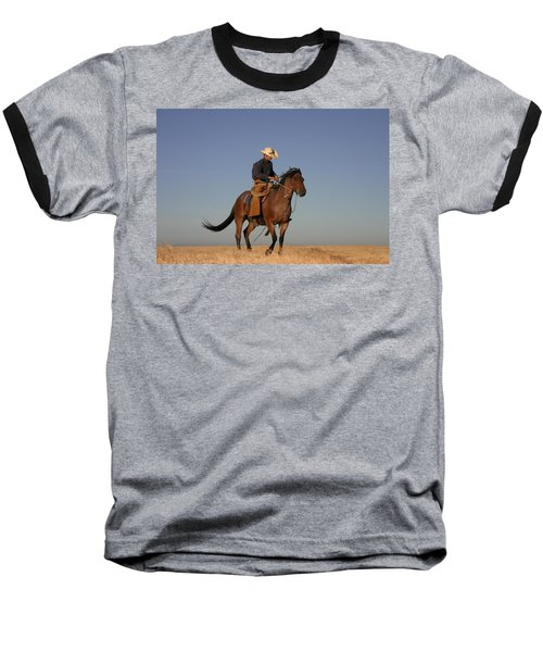 Ol Chilly Pepper Baseball T-Shirt by Diane Bohna