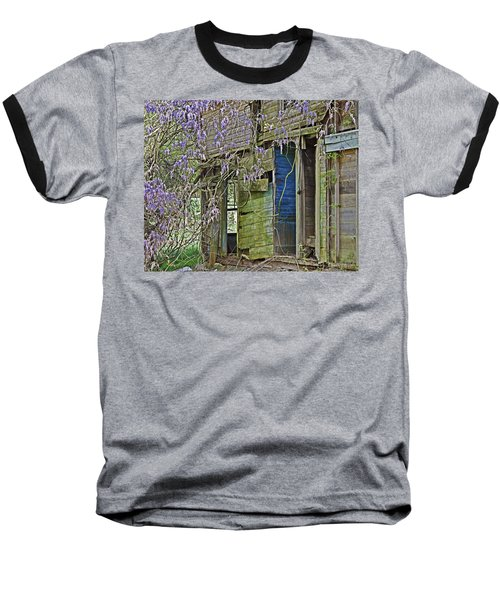 Old Abandoned House Baseball T-Shirt