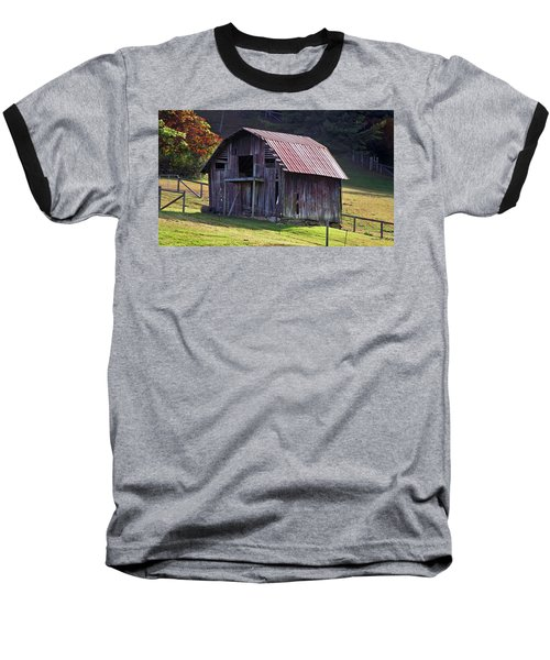 Old Barn In Etowah Baseball T-Shirt