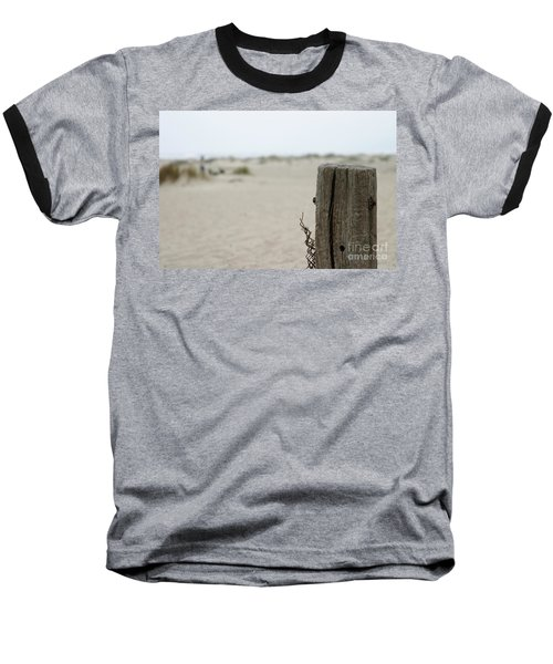 Old Fence Pole Baseball T-Shirt