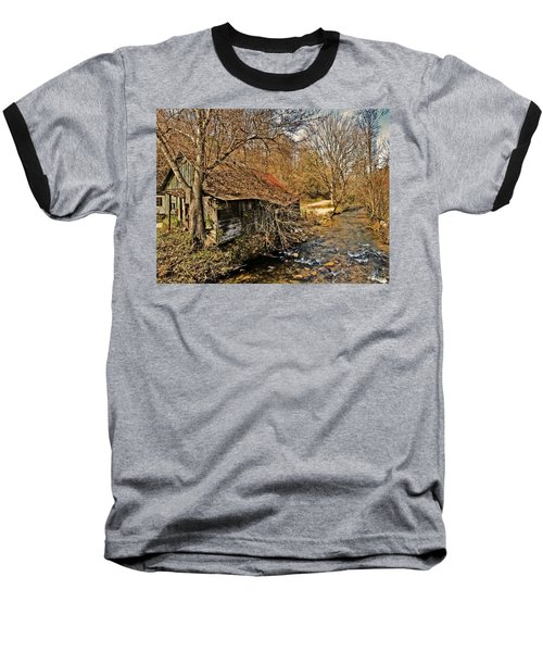 Old Home On A River Baseball T-Shirt