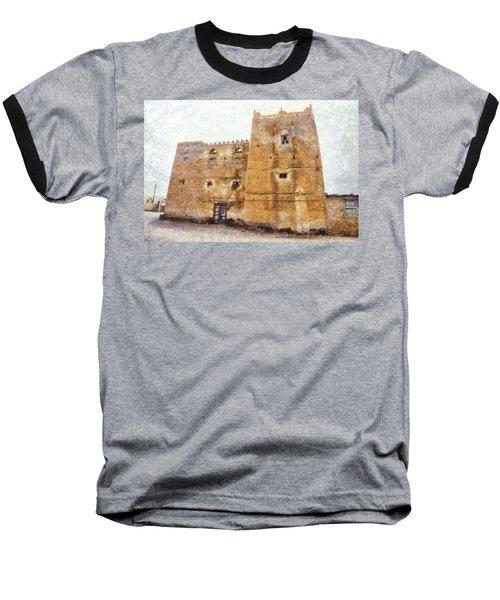 Old Mansion In Mirbat Baseball T-Shirt