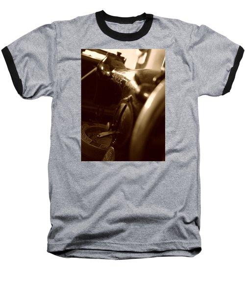 Old Singer Baseball T-Shirt