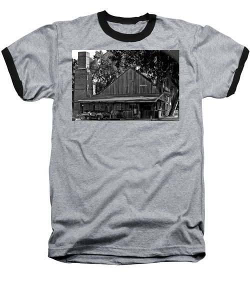 Baseball T-Shirt featuring the photograph Old Spanish Sugar Mill by DigiArt Diaries by Vicky B Fuller