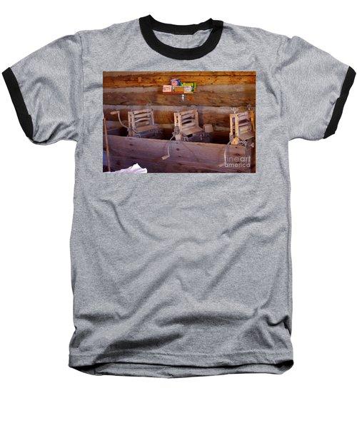 Baseball T-Shirt featuring the photograph Old West 2 by Deniece Platt