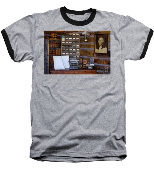 Baseball T-Shirt featuring the photograph Old West 3 by Deniece Platt