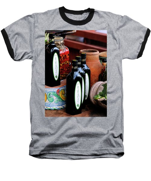 Olives And Olive Oil Baseball T-Shirt